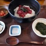 三崎食堂 - 5年前に来た時食べた「三崎マグロづけ丼」
