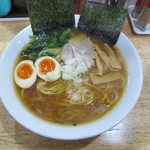 湯麺 戸塚 - 料理写真:醬油ラーメン 麺大盛