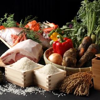 【旬にこだわる】全国各地で板前が目利きした厳選食材を提供