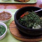 Bikkurishokudou - 石焼ビビンバ + カレー(追加オプション)
