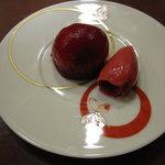 アクサングラーブ ル・ソレイユ - フランボワーズのケーキ&アイス