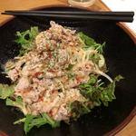 ウエストうどん - 料理写真:豚しゃぶサラダ400円