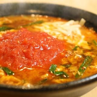 トマト辛麺!