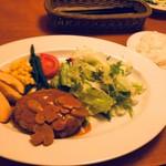 ローストチキンハウス - 若鶏のハンバーグ