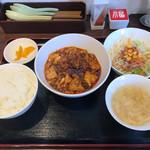 藤椒 - 麻婆豆腐定食 750円
