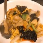 陳記厨房 - 豚肉とキクラゲの卵炒め
