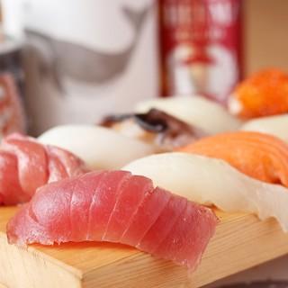 新鮮でかネタ寿司