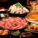黒豚料理 あぢもり - 料理写真:登録商標 黒しゃぶです。