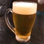 陳記厨房 - ビールはエビス