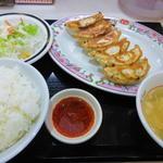 餃子の王将 - 1盛り餃子定食