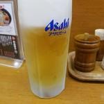 味源 - ビールは合格!ジョッキも清潔!