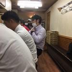ちばき屋 - 内観・カウンター中心