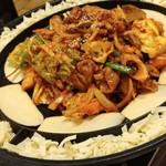 本格韓国料理 情 - チーズタッカルビ