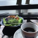 古道具 海津 - ケーキセット(850円)