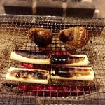 囲炉裏料理わ - 焦げるまで焼きます!