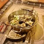 囲炉裏料理わ - 牡蠣小屋!