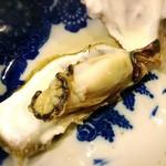 囲炉裏料理わ - 牡蠣①