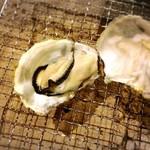 囲炉裏料理わ - 牡蠣③