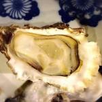 囲炉裏料理わ - 牡蠣④