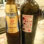 Cucina Italiana Pasta Piatto - 赤ワインボトル