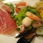 Cucina Italiana Pasta Piatto - 前菜4種盛り合わせ