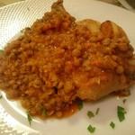 Cucina Italiana Pasta Piatto - スペアリブとレンズ豆のトマト煮