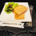 モンディアルカフェ328 - Croque Monsieur(800円)