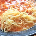 長秀龍 - 麺(大盛)