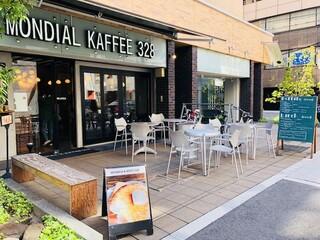 モンディアルカフェ328 - 大阪に5店舗展開、こちらが本店!
