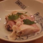 鮨 あい澤 - メヌケの酒蒸し