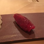 鮨 あい澤 - 鮪の赤身