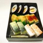 にぎり長次郎 - 料理写真:五種盛り
