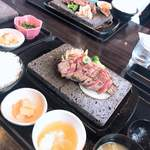 石焼ステーキ 贅  - イチボステーキ
