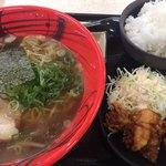 西宮名塩サービスエリア(下り線) フードコート - 料理写真:醤油ラーメンセット