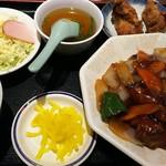 甲子園飯店 - 酢豚定食