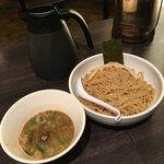 麺屋銀星 池袋 - 濃厚煮干しつけ麺('18/04/09)