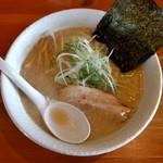 麺や 白 - みそ(※500円)