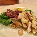 TRATTORIA GANZO - 季節のおまかせコース(8皿)5,300円 温野菜