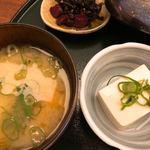 83902583 - お味噌汁と自家製豆腐