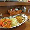 ポんタDINING - 料理写真:スパゲッティナポリタン1/2 + カレーライス1/2
