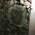 ステーキ家 シーエス・グリル - 入口の看板