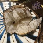 よね蔵 - 新潟五泉産 里芋(絹乙女)の炭火焼  630円+税