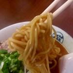 FUJI ICHIBAN - 【2018.4.10(火)】味噌らーめん(並盛)$9.50の麺