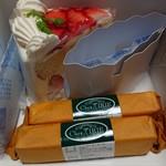 シェ・イリエ - 料理写真:スペシャルショート+ニューヨーカーチーズ