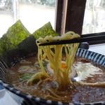 不動茶屋 - 和風らーめんの麺
