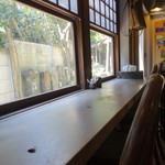 不動茶屋 - カウンター席