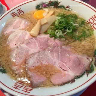 中華そば 丸岡商店 - 料理写真:中華そば(大盛)
