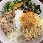 RAMEN 風見鶏 - (汁無) まぜろんちーの (*´ω`*) 麺大