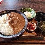 ごちそう茶屋 福菜 - 料理写真:黒毛和牛すじカレー 850円