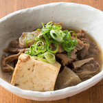 ■牛筋豆腐
